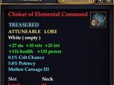 Choker of Elemental Command