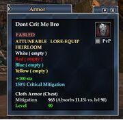 Dont Crit Me Bro