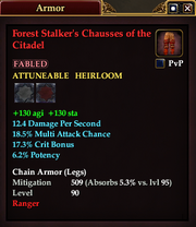 Forest Stalker's Chausses of the Citadel