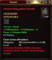 Orclord Brigandine Mantle