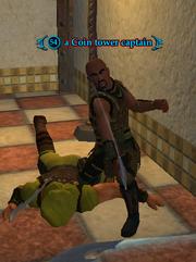 A Coin tower captain