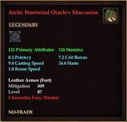 Arctic Frostwind Oracle's Moccasins