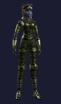 Caustic Gore (Armor Set) (Visible, Female)