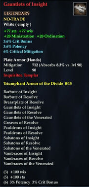 Gauntlets of Insight