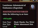 Luminous Adornment of Endurance (Superior)