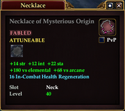 Necklace of Mysterious Origin
