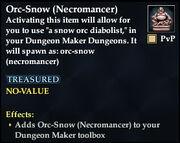 Orc-Snow (Necromancer)