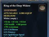Ring of the Deep Widow