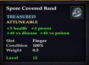 Spore Covered Band