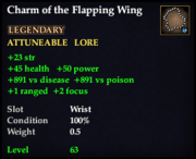 Charm of the Flapping Wing