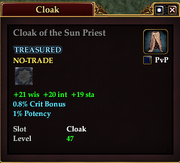 Cloak of the Sun Priest