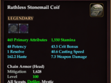 Ruthless Stonemail Coif