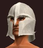 Unyielding Knight's Helmet (Equipped)