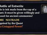 A Bottle of Entwrite