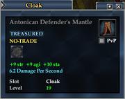 Antonican Defender's Mantle