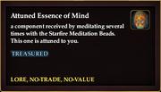 Attuned Essence of Mind