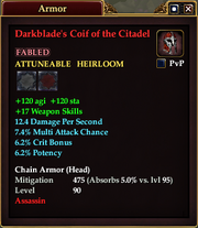 Darkblade's Coif of the Citadel