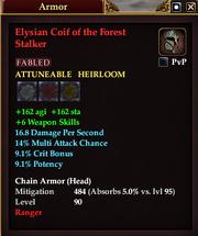 Elysian Coif of the Forest Stalker