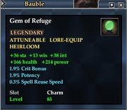 Gem of Refuge