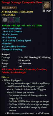 Savage Scourge Composite Bow