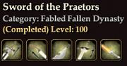 Sword of the Praetors
