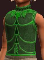 Tranquil Burlap Vest (Equipped)