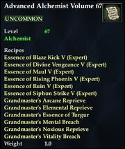 Advanced Alchemist Volume 67