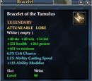 Bracelet of the Tumulus