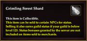 Grimling Forest Shard