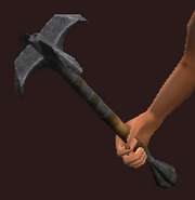 Iron War Mace (Equipped)