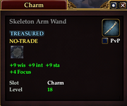 Skeleton Arm Wand