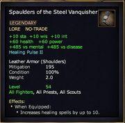 Spaulders of the Steel Vanquisher