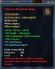 Ydalium Bloodlink Boots
