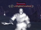 A blighted warlord