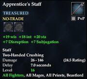 Apprentice's Staff