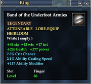 Band of the Underfoot Armies