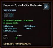 Deepwater Symbol of the Tidebreaker
