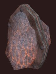 Elementalist's Lavastorm Boulder visible