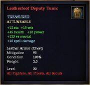 Leatherfoot Deputy Tunic