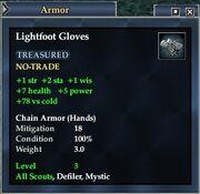 Lightfoot Gloves