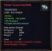 Poison Guard Gauntlets