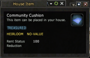 Communnity Cushion