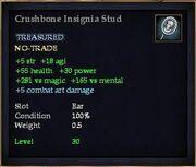 Crushbone Insignia Stud