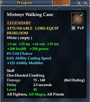 Mistmyr Walking Cane