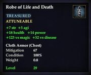 Robe of Life and Death