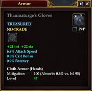 Thaumaturge's Gloves
