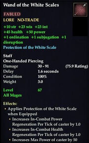 Wand of the White Scales