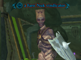 A Faro' Nuk vindicator