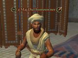 A Maj'Dul homeowner