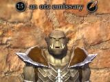 An orc emissary